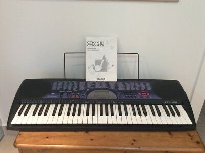 Casio Keyboard CTK-451 with Casio Songbook