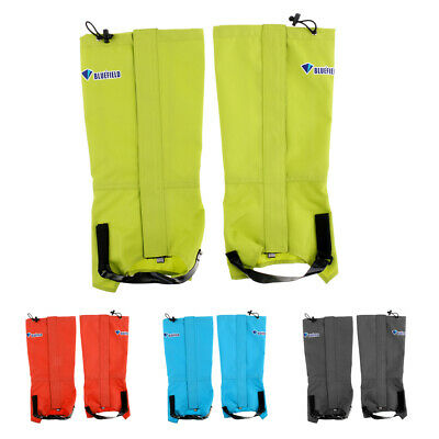 Waterproof High Leg Gaiters Cover Protector For Backpacking Hunting Climbing