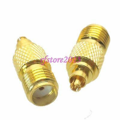 10pcs Adapter Connector SMA female jack to Mc-Card male plug for Wireless