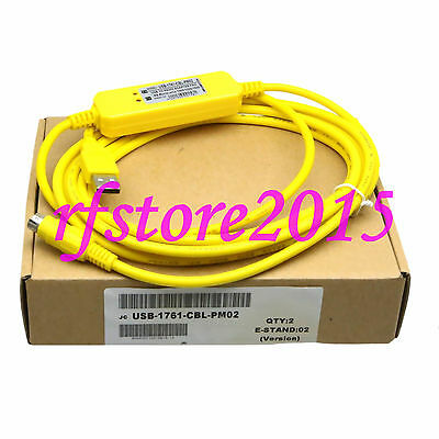 USB-1761-CBL-PM02 PLC Cable for Allen Bradley Micrologix Series win7 XP VISTA