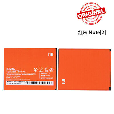 New Original Battery BM45 For Xiaomi Hongmi Redmi Note 2 Replacement Battery BBY