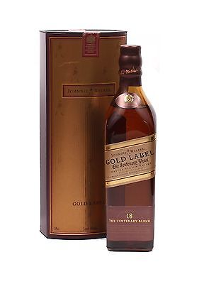 Johnnie Walker Gold Label The Centenary Blend 18 Year Old Scotch Whisky 200mL