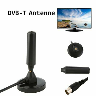 36dB aktive DVB-T HD Antenne ALU Massivkern AVK25-PLUS Stabantenne Receiver TR
