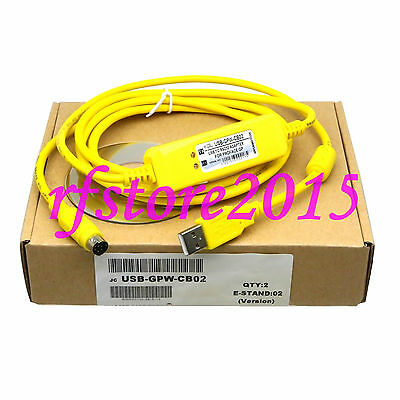 USB-GPW-CB02 PLC Cable for Proface Download Cable USB to RS232 VISTA WIN7