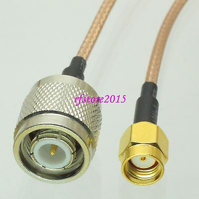 Cable RG316 RP-SMA male jack to TNC male plug straight RF Pigtail Jumper