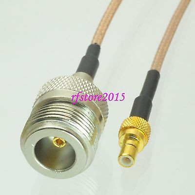 Cable RG316 N female jack to SMB male plug Straight RF Pigtail Jumper