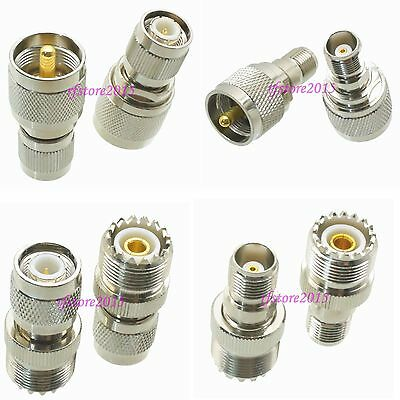 10pcs Adapter Connector UHF PL259 SO239 to TNC for router Radio