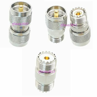 10pcs Adapter Connector UHF PL259 SO239 to PL259 SO239 UHF for Radio