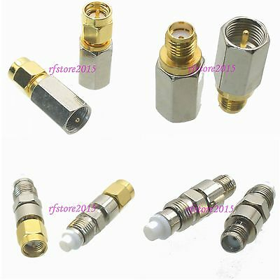 10pcs Adapter Connector FME to SMA for Antenna Router