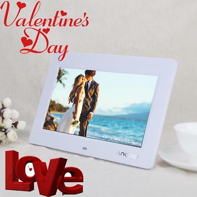 10'' HD LCD Digital Photo Picture Frame Clock MP4 Movie Player Valentine's Gift