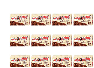 903552 12 x 141g THEATRE BOXES OF WHOPPERS THE ORIGINAL MALTED MILK BALLS VALUE