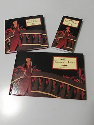 Art Deco Women's Collection Address. Birthday and Pocket Note Books