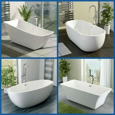 Modern Designer Baths Bathroom Freestanding Roll Top Luxury Large Bath tub