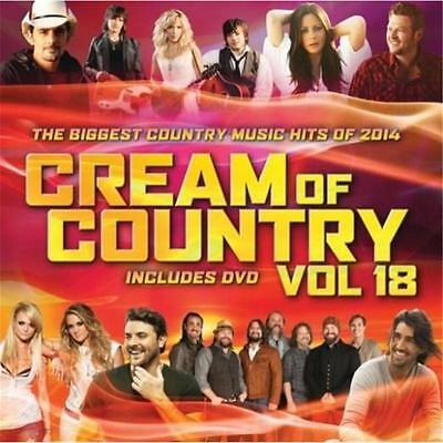 Cream Of Country Vol 18 Various Artists Cd & Dvd Region 0 Pal New