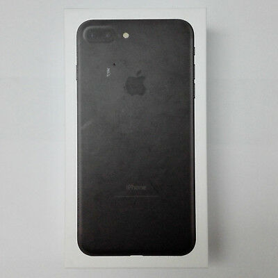 Empty Box Only Retail Packing With Factory Film Seal For Apple Iphone 7 Plus