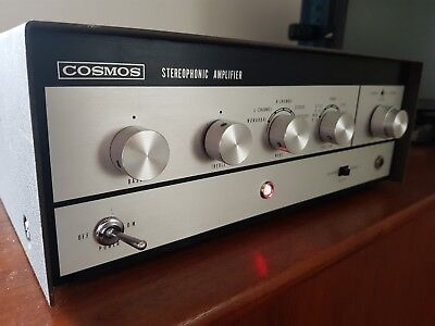 Vintage valve COSMOS Stereophonic Amplifier