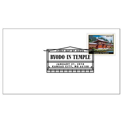 USPS News Byodo-In Temple First Day Cover
