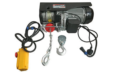 Warrior brand 500kg 240v Electric Gantry Lifting Hoist ideal for Workshop/Garage