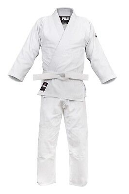 Fuji Competition Double Judo Gi - White - 4.5