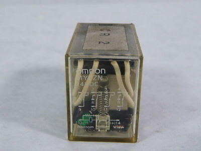 Omron MY4ZN-DC24 Plug-In Relay 4PDT 14-Pin 5A 24VDC  USED