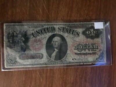 $1 1875 U S Note Large