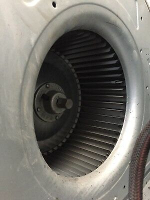 Centrifugal Fan blower squirrel cage extraction 1ph 750w