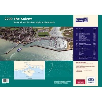 PACK CARTES IMRAY 2200 THE SOLENT alciumpeche