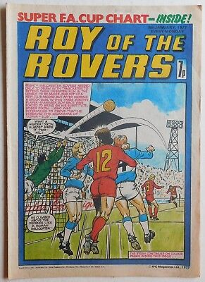 ROY OF THE ROVERS Comic - 8th January 1977