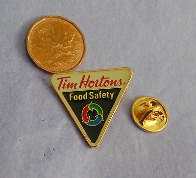 Tim Hortons Food Safety Pin Lapel Canada