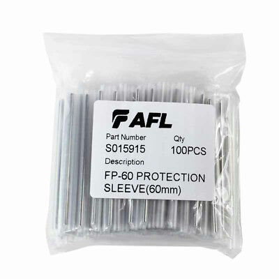 AFL FP-60 Splice Protection Sleeve 60mm S015915 *Pack of 100* *New & Free Ship*