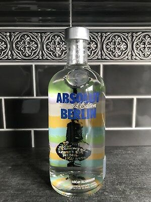 RARE 1st ABSOLUT VODKA BERLIN EDITION # 100 / 200 + SET * 700 ML NEW & SEALED *