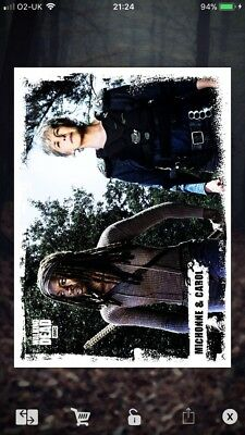 Topps The Walking Dead Card Trader CANDID Wave 1 SET