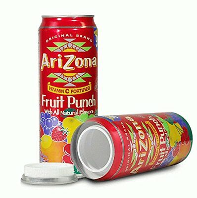 Fruit Punch Diversion Safe Soda Stash Can Hide Cash Jewelry Large Hidden Contain