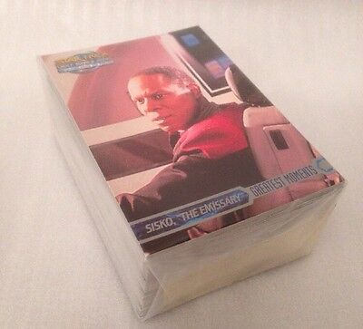 Star Trek Deep Space Nine Memories From The Future (SKYBOX) Complete Card Set