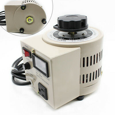 NEW Metered Variac Variable 500W AC Transformer Auto Regulator 0-130V 500VA US