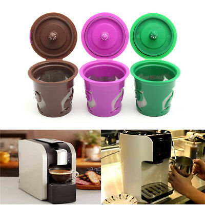 1Pc Refillable Reusable Coffee Capsule K-cup Filter For Keurig 2.0 & 1.0 Brewers