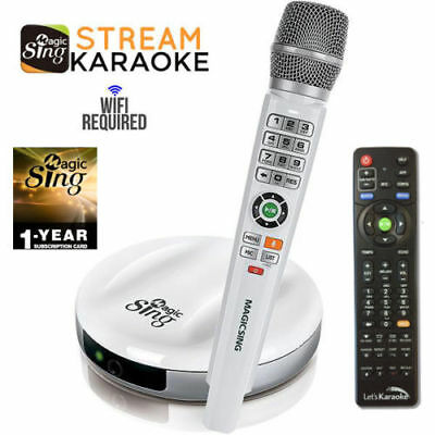 2018 E2 WiFi Wireless MAGIC MIC Karaoke 12K POP + 1 year 220K International song