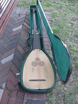 Concert Theorbo 14 course made by Giuseppe Tumiati (Rosewood Spruce Bass Lute)