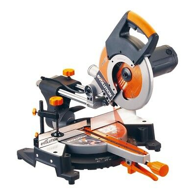 Original   New  Evolution Rage3Fp2552 255Mm Single-Bevel Sliding  Mitre Saw 230V