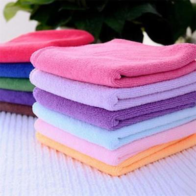 10*Soothing Soft Towel Wash Cloth Cotton Face/Hand Towel / Cleaning Random