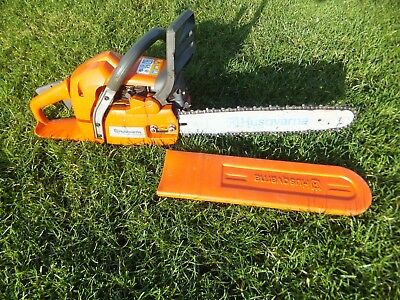 "Husqvarna 350 Petrol Chainsaw 15"" Bar   Year 2003"
