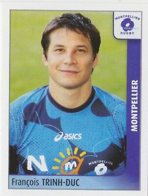 Panini Rugby 2010 Montpellier Francois Trinh Duc