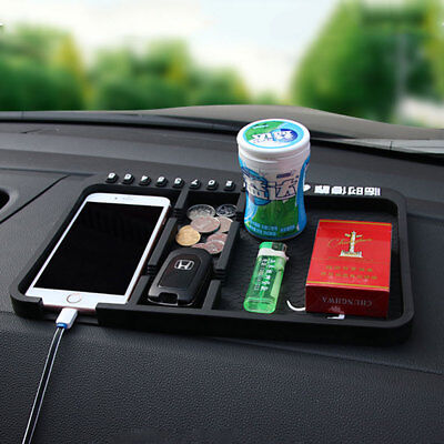 Car Dashboard Anti Slip Mat Non-slip Pad For Key Mobile Phone GPS Mount Holder