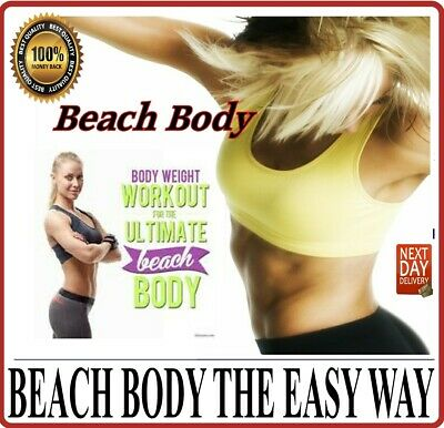 Beach Body Ultimate Fat Burning Hiit Workout Dvd Fitness Cardio.