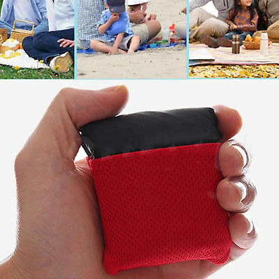 Compact Outdoor Garden Camping Beach Picnic Pocket Blanket Mat Nylon Waterproof