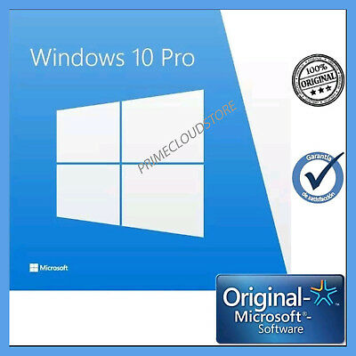 Licenza Windows 10 Pro Professional 32/64 Bit Product Key Full ESD Ufficiale