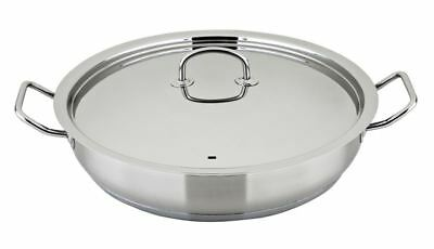 Benzer - Berlin Professional 18/10 Stainless Steel Covered Chef's Pan 32cm