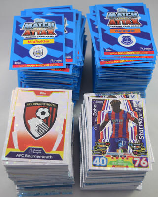 Match Attax 2017/2018 Choose Any 5 Base Cards To Complete Your Collection 17/18