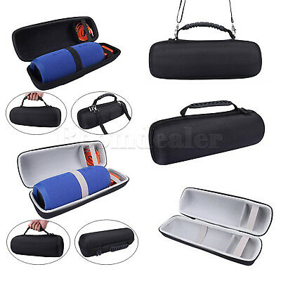 Black EVA Hard Travel Storage Case Bag Cover for JBL Charge 3 Bluetooth Speaker