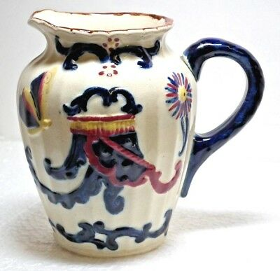 "Antique ""Nantgarw"" Pottery Wales Jug. c.Late 1800s.Welsh Pottery."